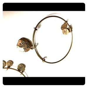 Alex and Ani Sand Dollar Bangle